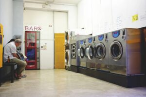 Laundry room - how much is waiting